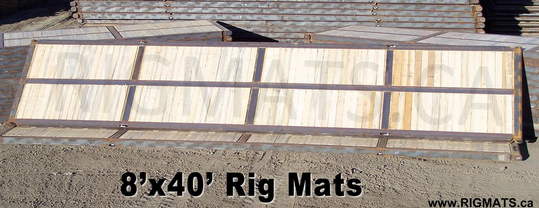 8x40 Rig Mat