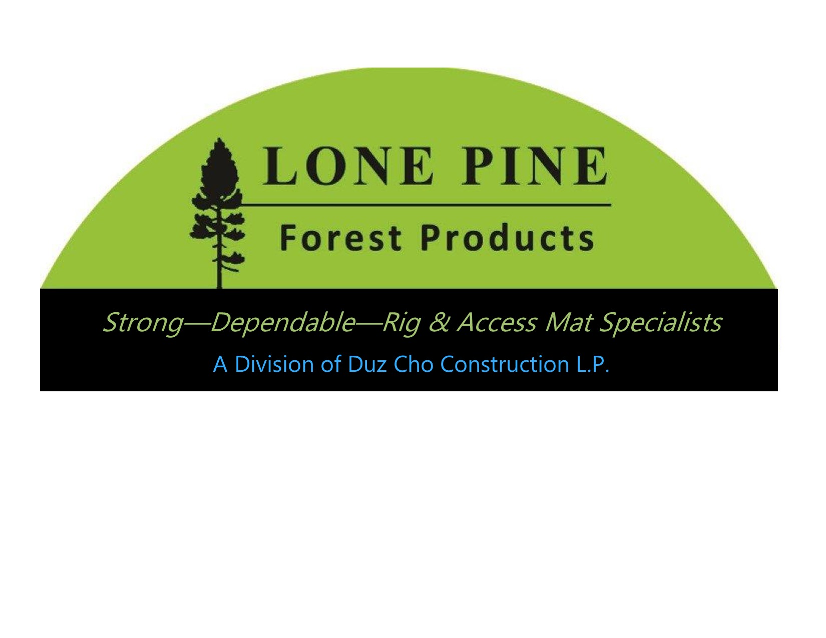 Lone Pine Forest Products